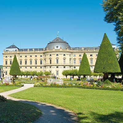 Wurzburger Residenz Und Hofgarten Unesco Welterbestatten Deutschland E V